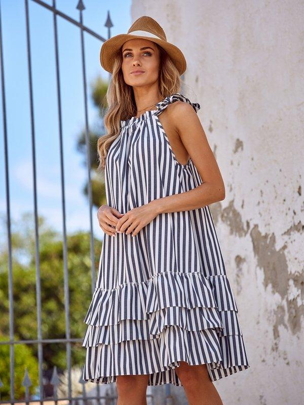 Sukienka Mimoletta Granatowa