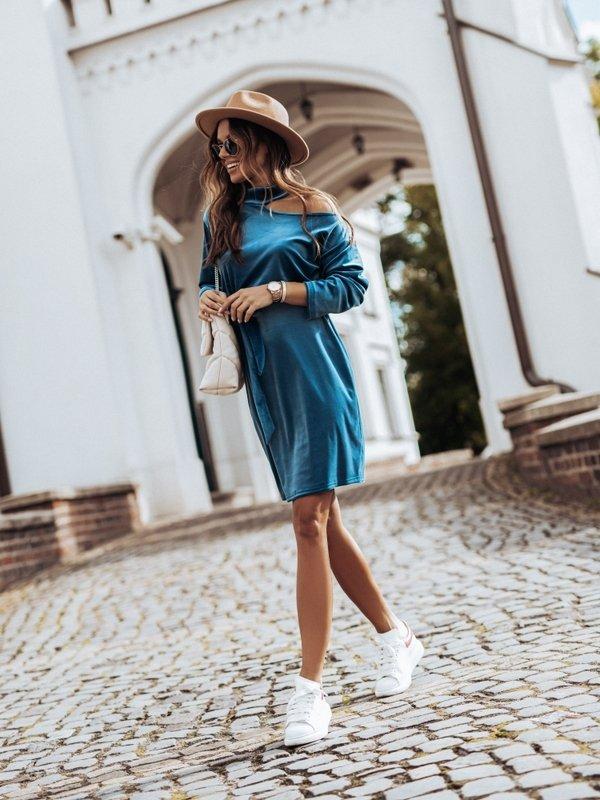 Sukienka Marita Niebieska