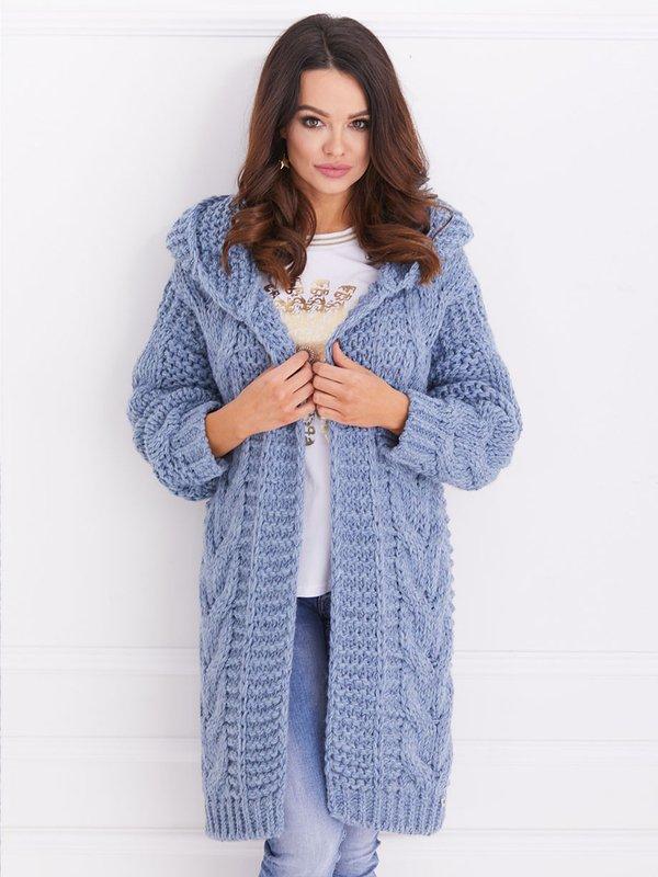 Sweter Daisy Niebieski