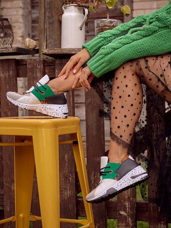 Adidasy Liu Zielone
