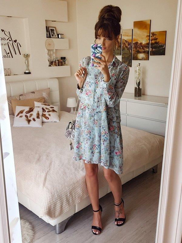 Sukienka Amber Błękitna