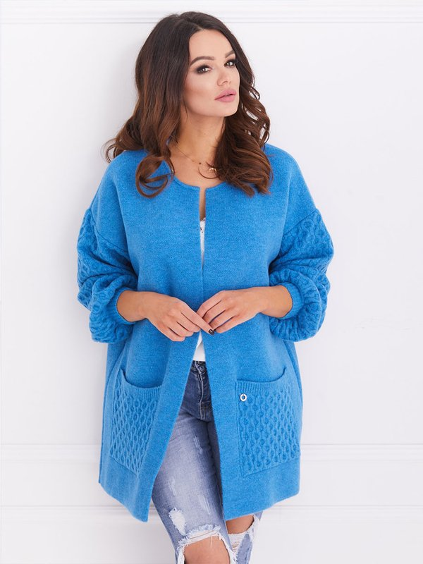 Sweter Alison Niebieski