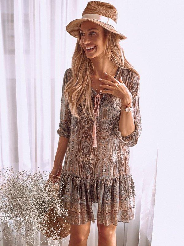 Sukienka Charm Wzory