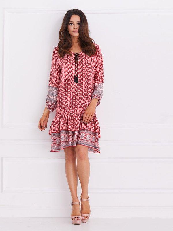 Sukienka Safona Czerwona