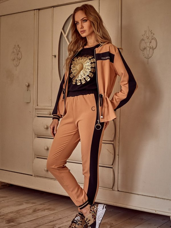 Spodnie Astra Karmelowe