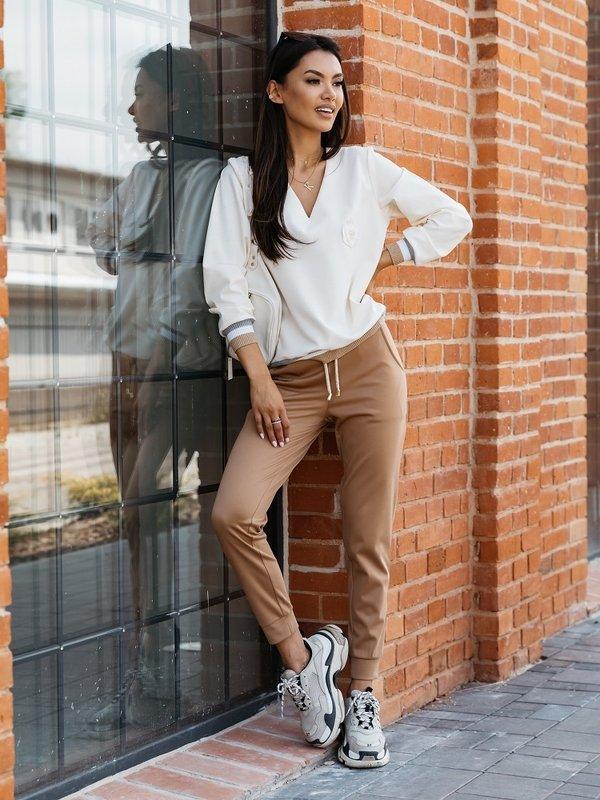 Spodnie Clarisa Brązowe
