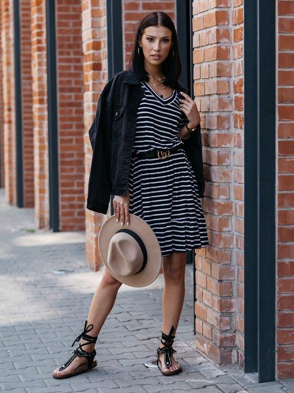 Sukienka Simplic Czarna