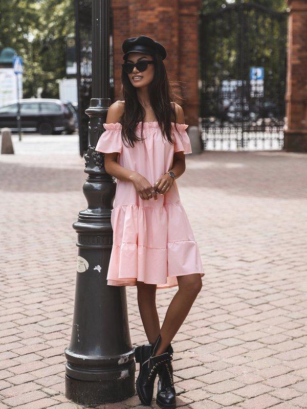 Sukienka More Pomarańczowa