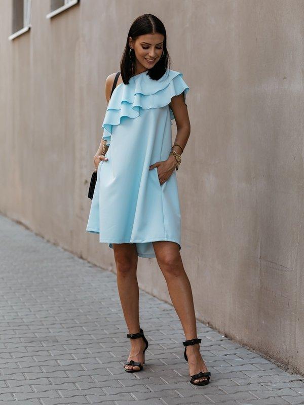 Sukienka Lancello Błękitna