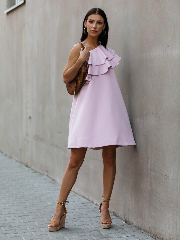 Sukienka Lancello Fioletowa