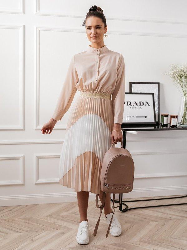 Sukienka Prue Pudrowa
