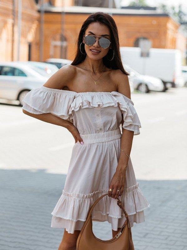 Sukienka Anaya Nude