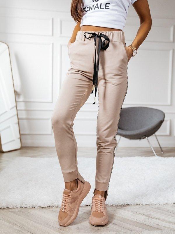 Spodnie Spike Karmelowe