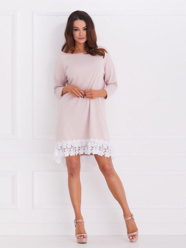 Sukienka Rose Pudrowa