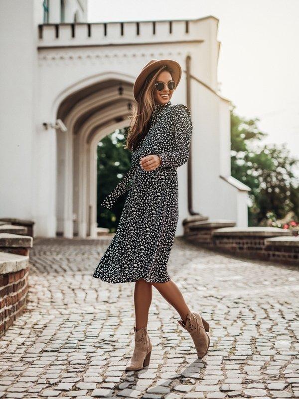 Sukienka Vajo Czarna