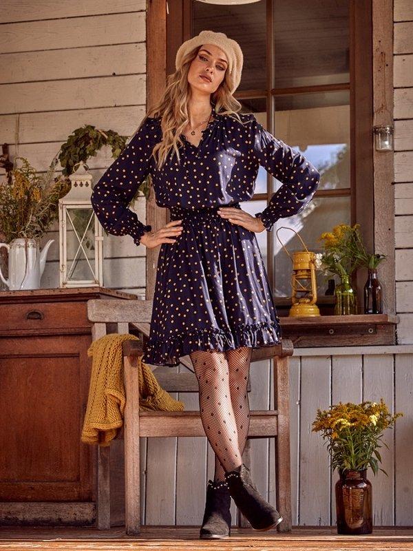 Sukienka Aria Granatowa