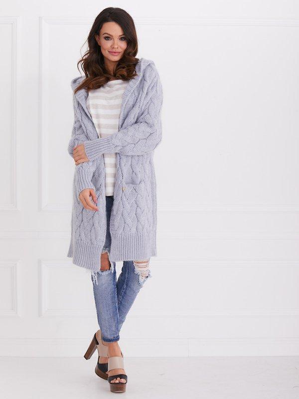 Sweter Mona Błękitny