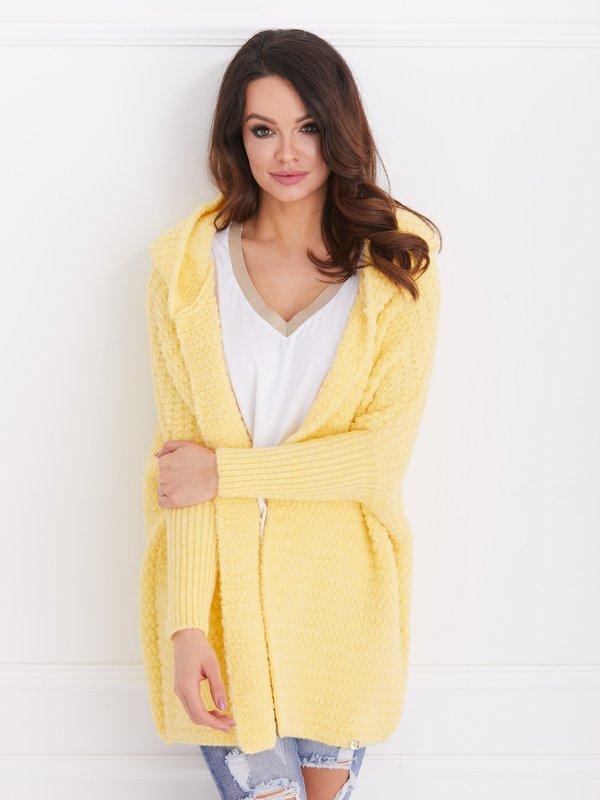 Sweter Wanted Żółty