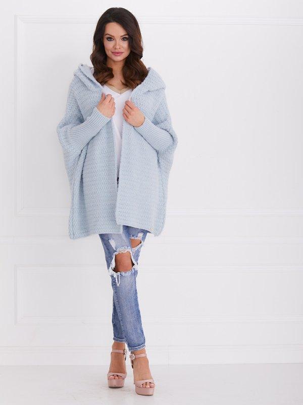 Sweter Wanted Błękitny