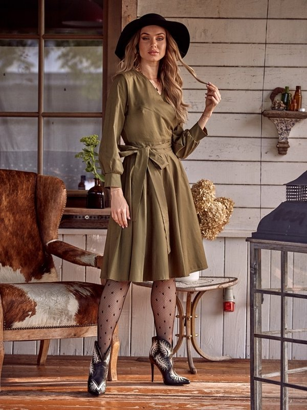 Sukienka Amarel Khaki