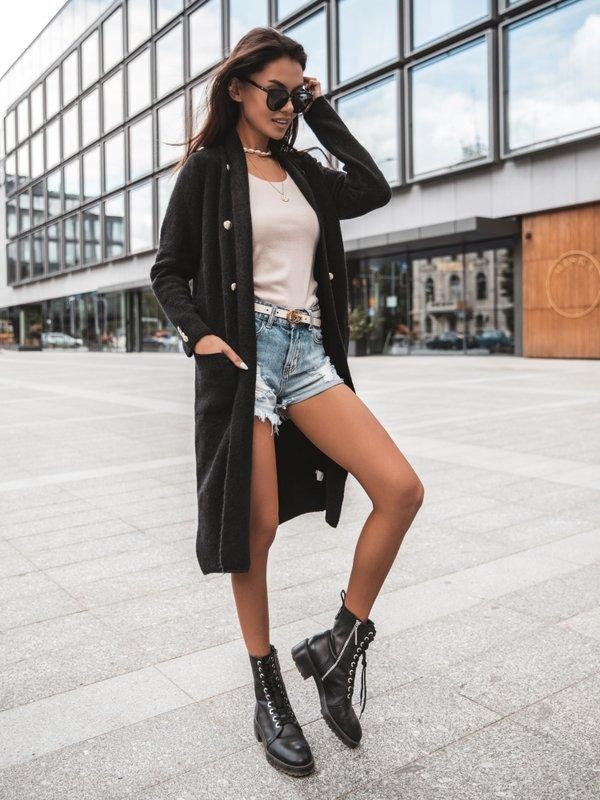 Sweter Jasmin Czarny
