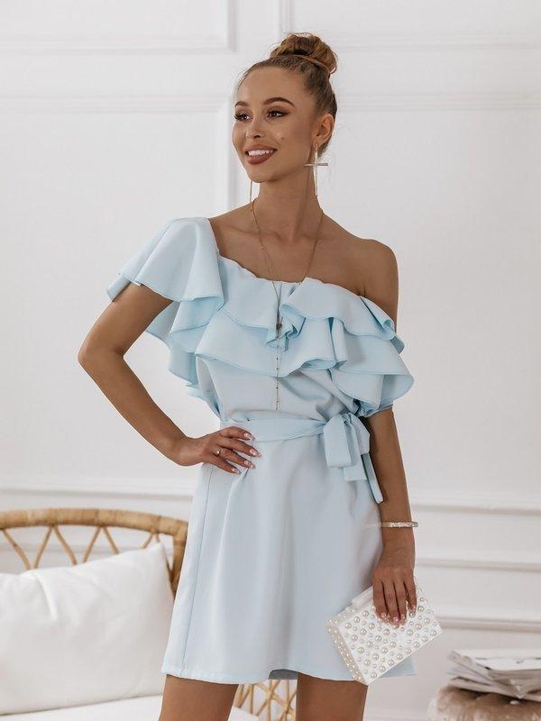 Sukienka Syntio Błękitna