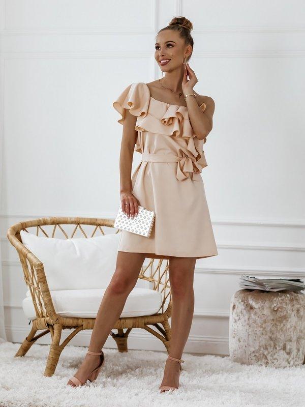 Sukienka Syntio Pomarańczowa