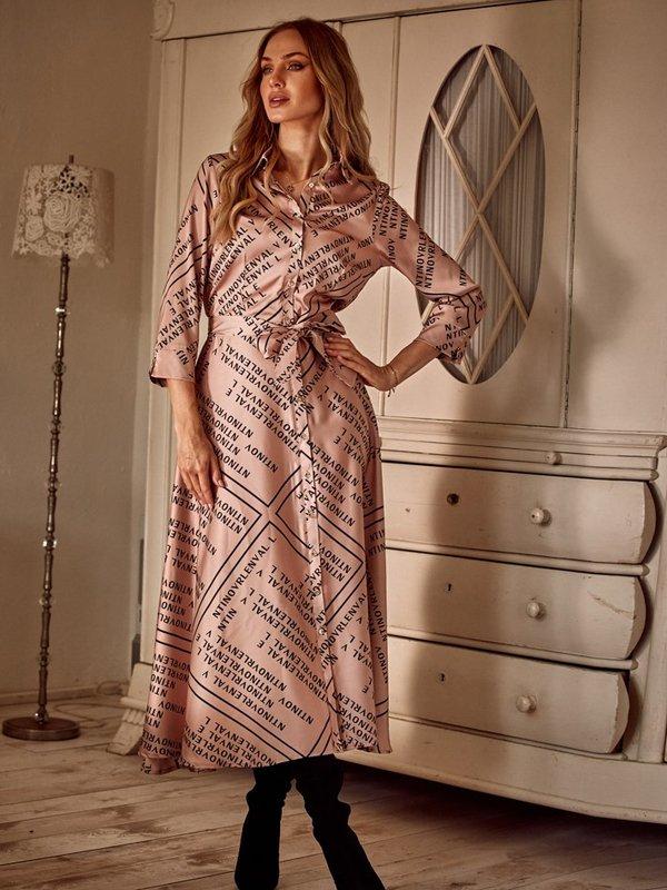 Sukienka Ansonia Pudrowa