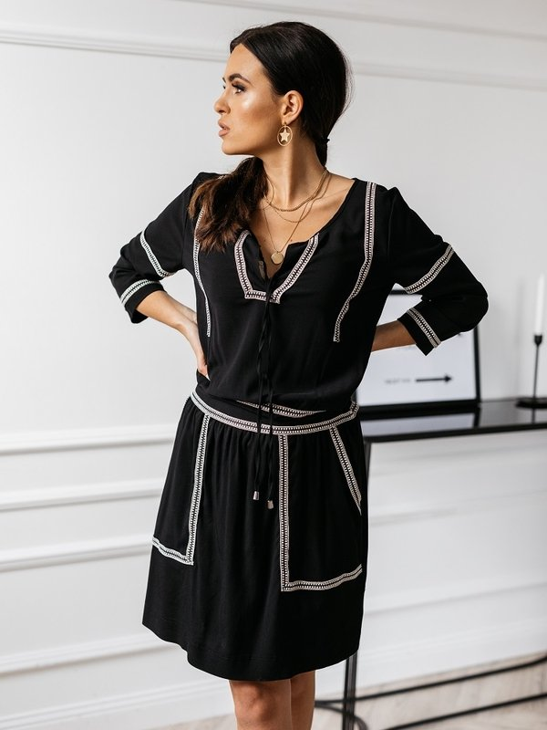 Sukienka Brendie Czarna