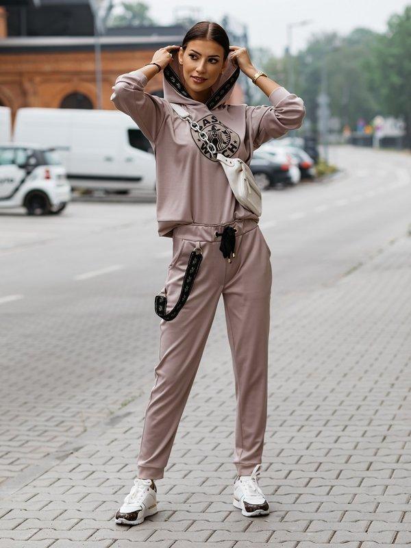 Spodnie Basic Witch Brązowe