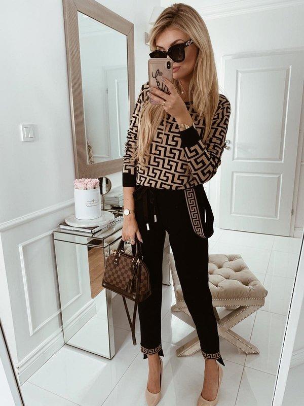 Spodnie Goldie Czarne