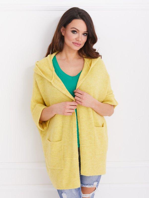 Sweter Fortune Żółty