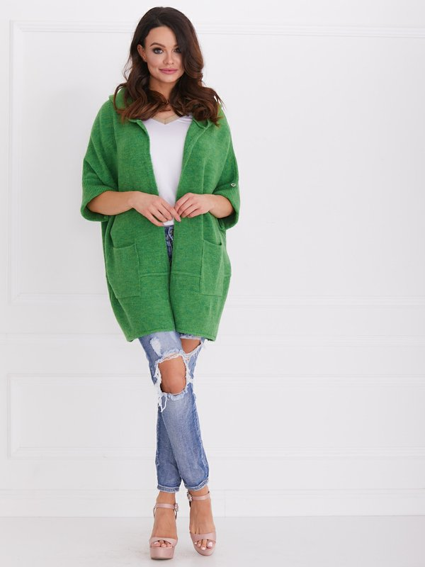Sweter Fortune Zielony