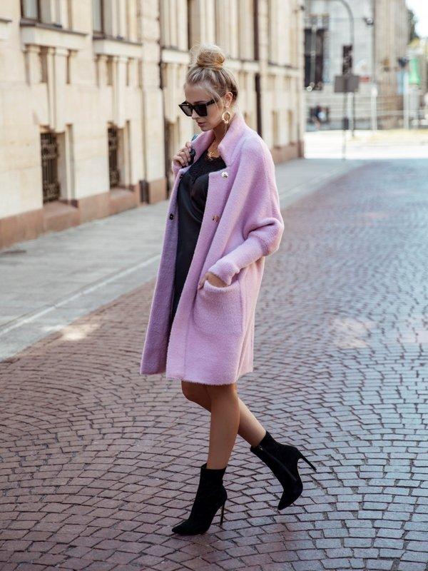 Płaszcz Marelle Pudrowy