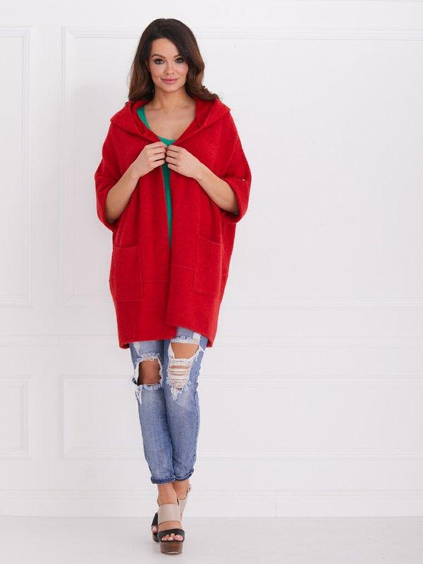 Sweter Fortune Czerwony