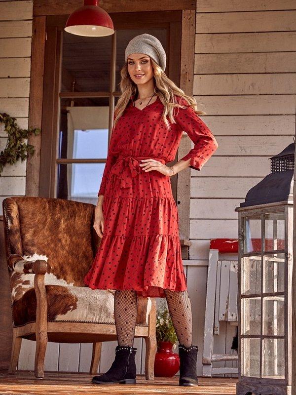 Sukienka Hunter Czerwona