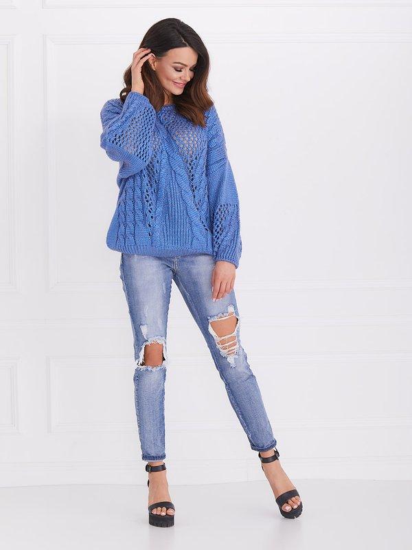 Sweter California Niebieski