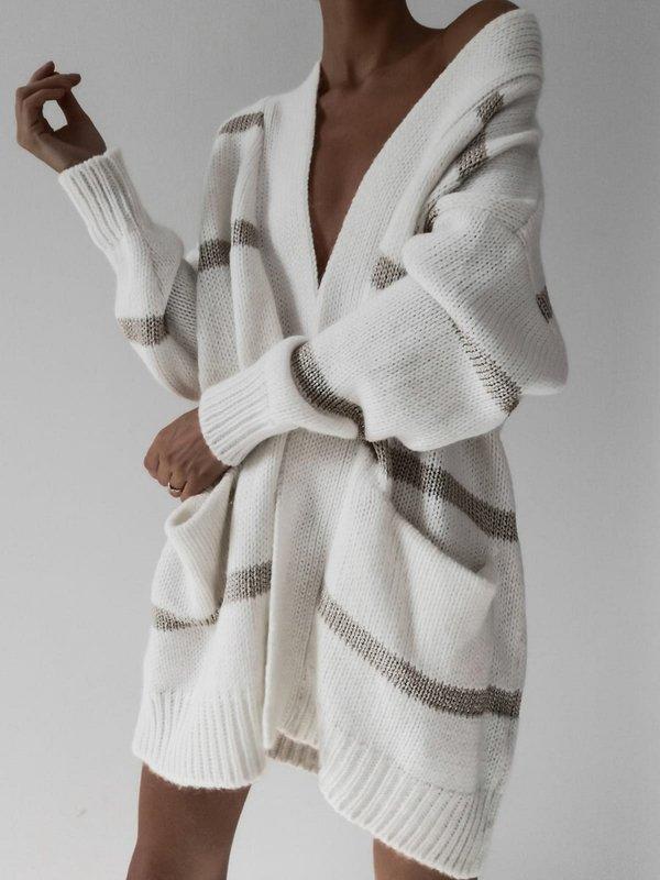 Sweter Shimmy Ecru