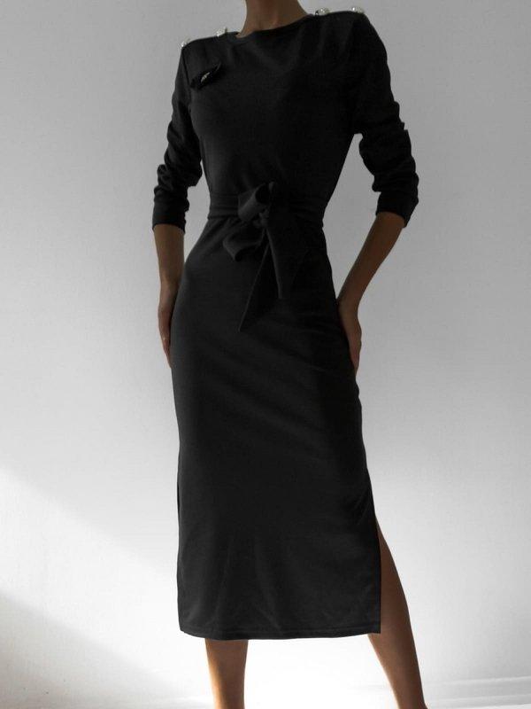 Sukienka Melania Czarna