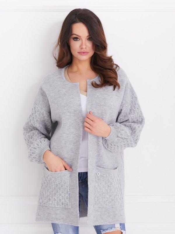 Sweter Alison Szary