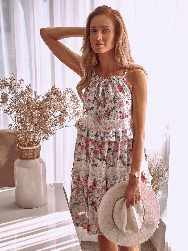 Sukienka Geneva Biała