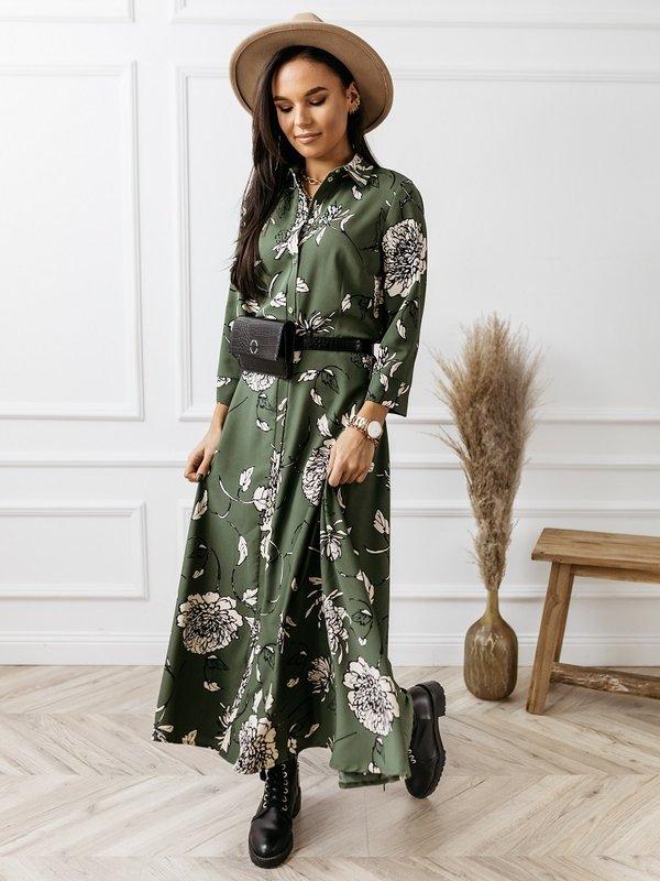Sukienka Basil Khaki