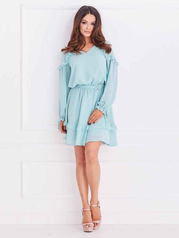 Sukienka Chemise Miętowa