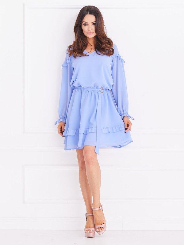 Sukienka Chemise Błękitna