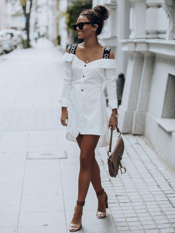 Sukienka Lambert Biała