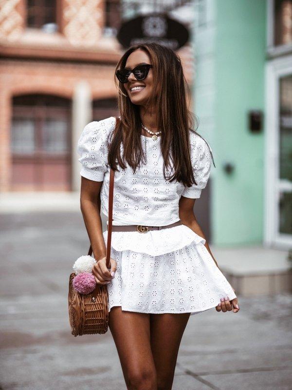 Bluzka Malory Biała