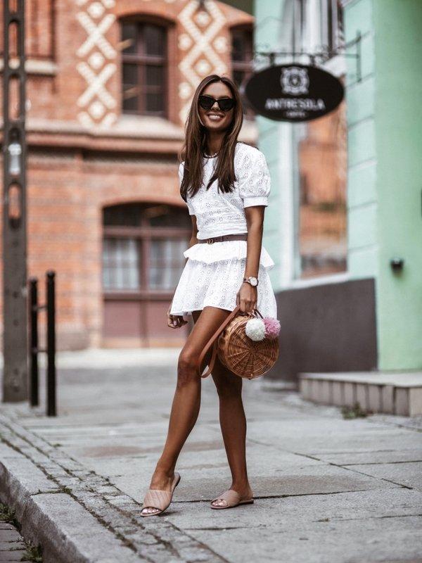 Spódnica Malory Biała