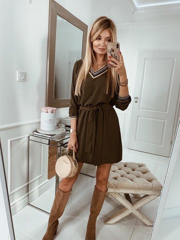 Sukienka Sterla Khaki
