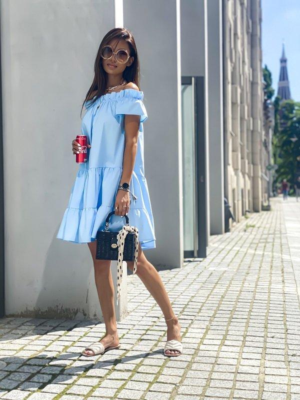 Sukienka More Błękitna