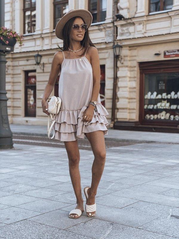 Sukienka Bianca Wrzosowa